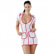 Cottelli Costumes White And Red Nurses Dress