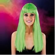 Cabaret Wig Green Long