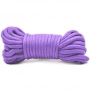 10 Metres Cotton Bondage Rope Purple